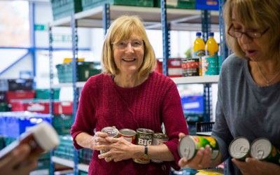 Support your local foodbank