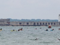 Solent Swim for West Wight Sports and Community Centre