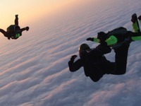 MICHAEL AND CHARLOTTE'S SKYDIVE