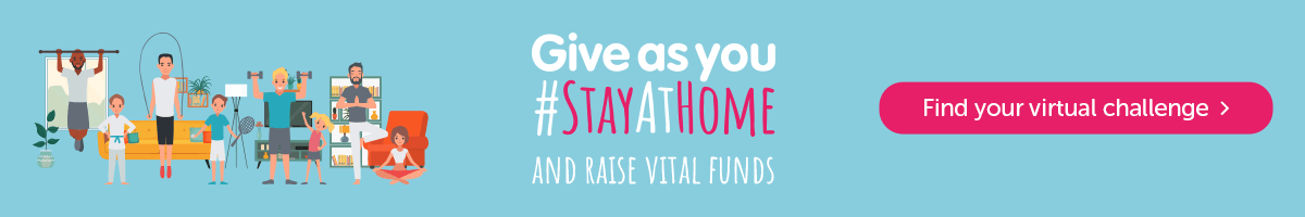 Give as you #StayAtHome - Find a virtual challenge